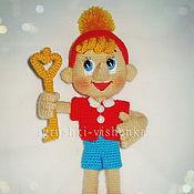 Куклы и игрушки ручной работы. Ярмарка Мастеров - ручная работа Буратино. Handmade.