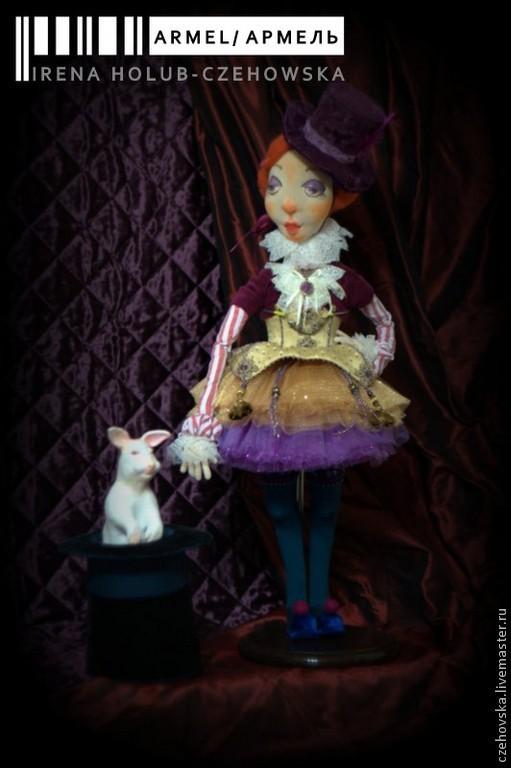 Коллекционные куклы ручной работы. Ярмарка Мастеров - ручная работа. Купить Армель / Armel. Принцесса Старого Цирка. Handmade.