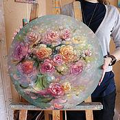 Картины ручной работы. Ярмарка Мастеров - ручная работа Элегантная цветочность. Handmade.