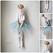 Куклы и игрушки ручной работы. Ярмарка Мастеров - ручная работа Тильда Майя в голубом. Handmade.