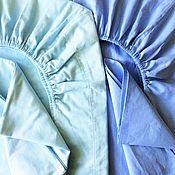 Для дома и интерьера ручной работы. Ярмарка Мастеров - ручная работа Простынь 60х120см на резинке, наволочка для детской кроватки. Handmade.