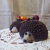 Для дома и интерьера ручной работы. Ярмарка Мастеров - ручная работа Кофейный ёжик. Handmade.
