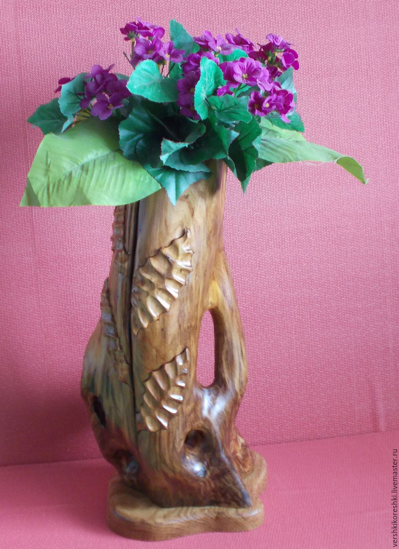 Vase vase for flowers dried flowers vase made of wood shop vases handmade vase vase for flowers dried flowers vase made of wood reviewsmspy
