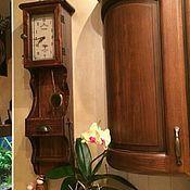 """Для дома и интерьера ручной работы. Ярмарка Мастеров - ручная работа Часы """"Toscana"""" без искусственных червоточин. Handmade."""