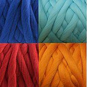 Материалы для творчества handmade. Livemaster - original item Yarn Super Bulky  WOOL 100%  500g 40 m. Handmade.