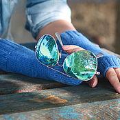 Аксессуары handmade. Livemaster - original item Fingerless gloves Merino wool