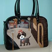 Сумки и аксессуары handmade. Livemaster - original item Bag of genuine leather.