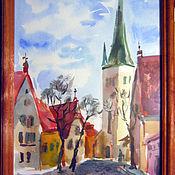 Картины и панно ручной работы. Ярмарка Мастеров - ручная работа Весна в старом городе. Handmade.