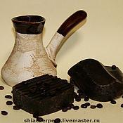 Мыло ручной работы. Ярмарка Мастеров - ручная работа Кофе по-бедуински. Мыло натуральное (с нуля). Handmade.