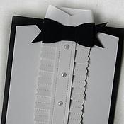 """Открытки ручной работы. Ярмарка Мастеров - ручная работа открытка""""Джентльмен"""". Handmade."""