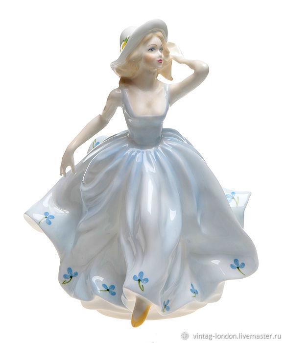 Винтаж: Фарфоровая редкая статуэтка Debbie Coalport, Сувениры винтажные, Лондон,  Фото №1