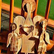 Для дома и интерьера ручной работы. Ярмарка Мастеров - ручная работа ангелы..трое. Handmade.