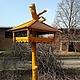 Экстерьер и дача ручной работы. Деревянная кормушка для птиц (001). Андрей. Интернет-магазин Ярмарка Мастеров. Птицы, кормушка для птиц