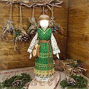 Народная кукла ручной работы. Ярмарка Мастеров - ручная работа Авторская кукла-оберег Сосна. Handmade.