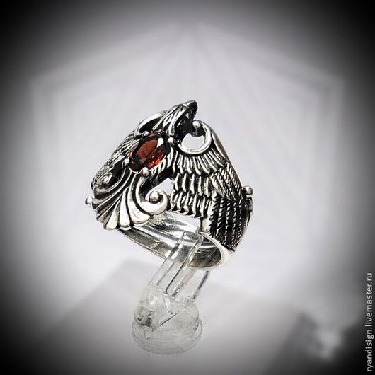 Финист, кольцо из серебра, подарки  перстни