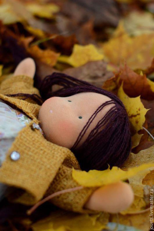 Вальдорфская игрушка ручной работы. Ярмарка Мастеров - ручная работа. Купить Принцесса кленовых листочков.. Handmade. Коричневый, клен, лесной