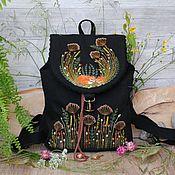 handmade. Livemaster - original item Backpack