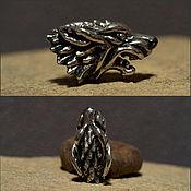 Материалы для творчества handmade. Livemaster - original item Dire Wolf charm. Handmade.