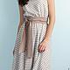 Платья ручной работы. Платье Pretty. Florinio - авторская одежда. Интернет-магазин Ярмарка Мастеров. В горошек