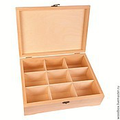 Материалы для творчества handmade. Livemaster - original item 342510(9) box 34 25 10 with 9 cells. Handmade.
