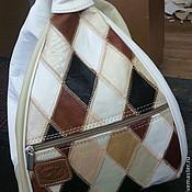 Сумки и аксессуары ручной работы. Ярмарка Мастеров - ручная работа сумка рюкзак кожаная. Handmade.