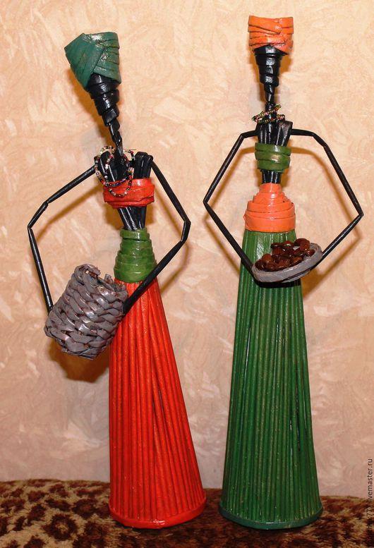 Картины цветов ручной работы. Ярмарка Мастеров - ручная работа. Купить Статуэтка Африканка. Handmade. Подарок на любой случай