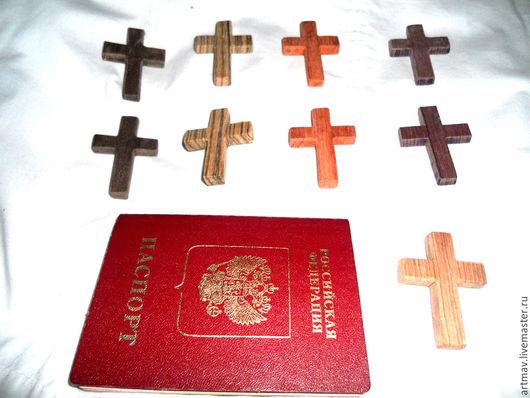 Кулоны, подвески ручной работы. Ярмарка Мастеров - ручная работа. Купить крестики нательные. Handmade. Крест нательный, крест деревянный