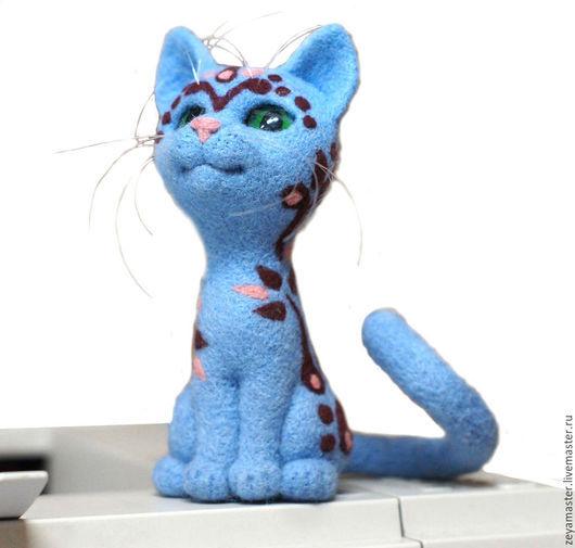 Статуэтки ручной работы. Ярмарка Мастеров - ручная работа. Купить Кошка Татушка. Статуэтка из шерсти. Handmade. Кот