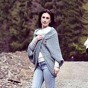Одежда handmade. Livemaster - original item Knitted Cardigan Envelope.. Handmade.