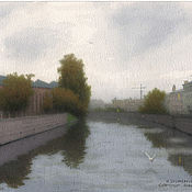 Картины и панно handmade. Livemaster - original item Paintings for the interior of SPb. New Holland.. Handmade.