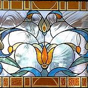 Для дома и интерьера ручной работы. Ярмарка Мастеров - ручная работа Витраж Классика. Handmade.