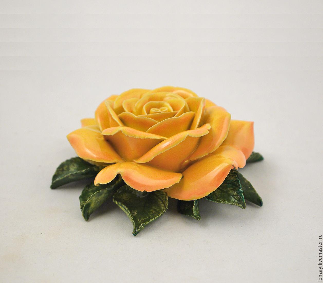 Роза для интерьера