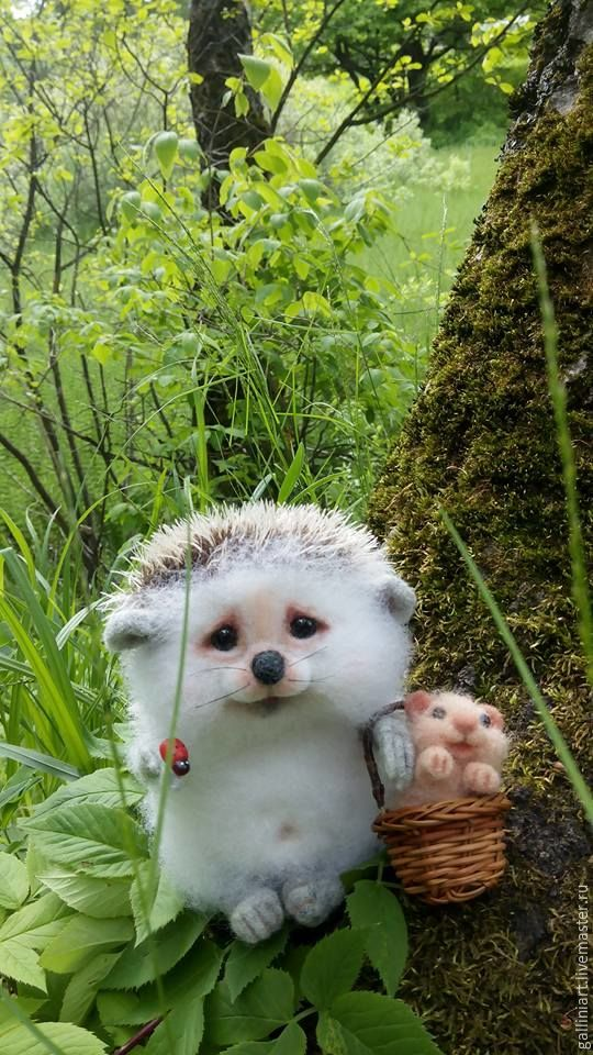 Hedgehog Filippok and Hom's hamster, Stuffed Toys, Moscow,  Фото №1
