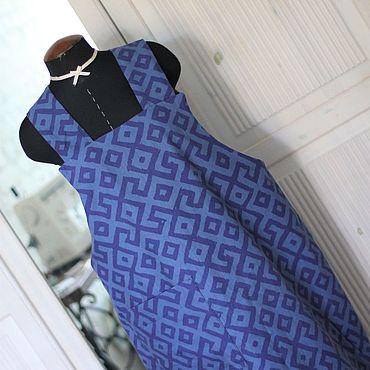 """Одежда ручной работы. Ярмарка Мастеров - ручная работа Хлопковый сарафан """"Эклектика"""".. Handmade."""