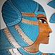 Роспись в интерьере в египетском стиле