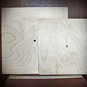 Материалы для творчества ручной работы. Ярмарка Мастеров - ручная работа Циферблат Квадрат (2 размера, деревянная заготовка). Handmade.