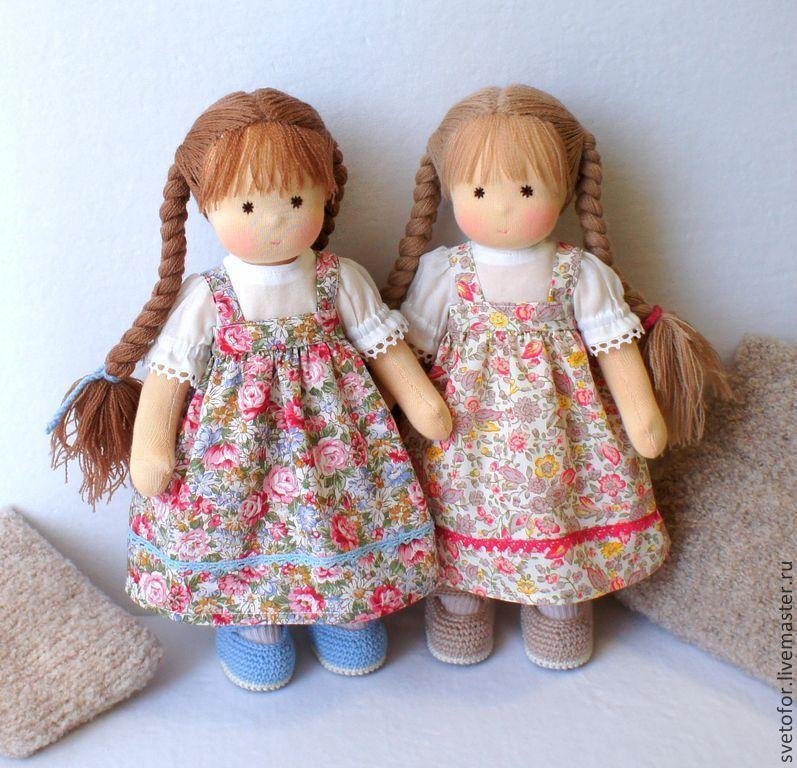 вальдорфские куклы фото речь идет