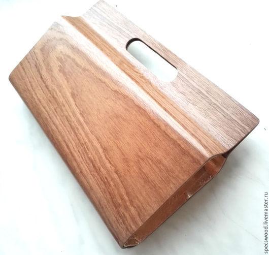 Женские сумки ручной работы. Ярмарка Мастеров - ручная работа. Купить Клатч из дерева №2. Handmade. Сумочка из дерева