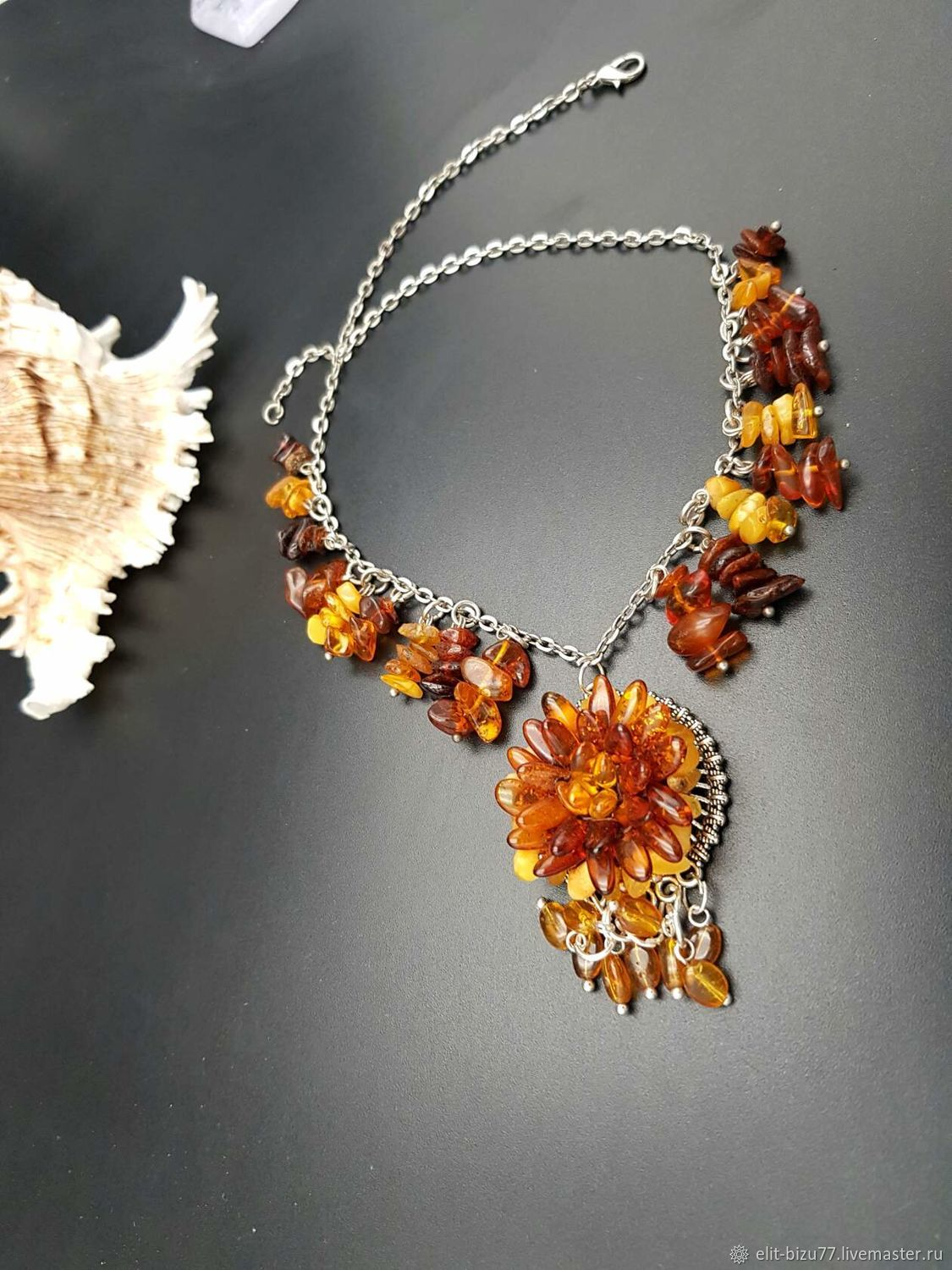 Necklace Amber, Necklace, ,  Фото №1