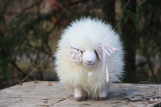 Развивающие игрушки ручной работы. Ярмарка Мастеров - ручная работа. Купить Музыкальная овечка. Мягкая и пушистая. Handmade. Белый, пушистик