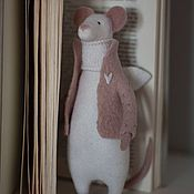 Куклы и игрушки handmade. Livemaster - original item Spring Angel N2 Felt Doll (Mouse mouse toy). Handmade.