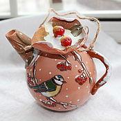 Подарки к праздникам ручной работы. Ярмарка Мастеров - ручная работа Елочные шары Елочные чайники. Handmade.