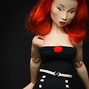 Куклы и игрушки ручной работы. Ярмарка Мастеров - ручная работа Джинджер (пин-ап проект) продана. Handmade.