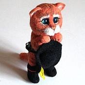Куклы и игрушки handmade. Livemaster - original item Puss in boots from Shrek toy. Handmade.
