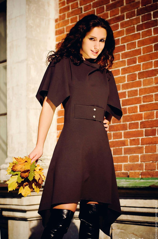 Платье с поясом на пуговицах, Верхняя одежда, Москва, Фото №1