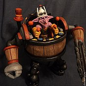 Куклы и игрушки ручной работы. Ярмарка Мастеров - ручная работа Timbersaw Dota 2. Handmade.