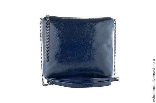 Женские сумки ручной работы. Ярмарка Мастеров - ручная работа. Купить Сумочка  Casual Dark blue. Handmade. Тёмно-синий