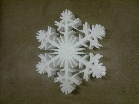 Новый год 2017 ручной работы. Ярмарка Мастеров - ручная работа. Купить Гигантские снежинки. Handmade. Белый, снежинка, украшение