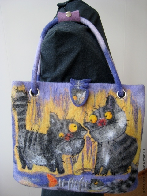 The bag of 'Weird cats' -2, Classic Bag, Schyolkovo,  Фото №1