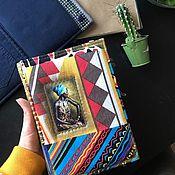 Блокноты ручной работы. Ярмарка Мастеров - ручная работа Крафтовый блокнот «Африка». Handmade.